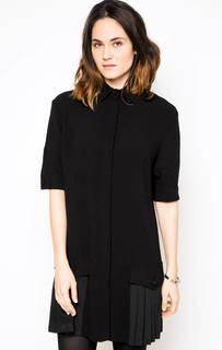 Черное платье на пуговицах Frankie Morello