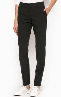 Зауженные брюки из полиэстера и хлопка Gant