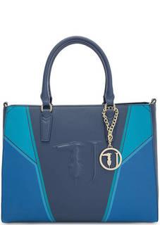 Вместительная сумка с короткими ручками Trussardi Jeans