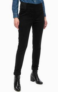 Зауженные брюки с эластичными вставками Lerros