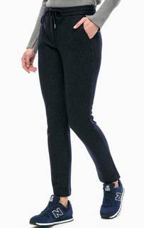 Шерстяные брюки в полоску More & More