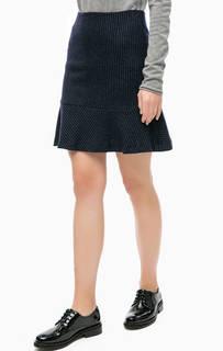 Шерстяная юбка в полоску More & More