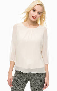 Блуза с подкладкой из вискозы More & More