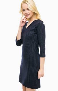 Шерстяное платье в полоску More & More