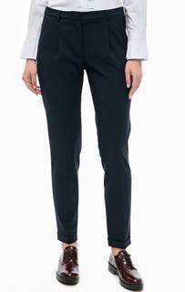 Синие трикотажные брюки More & More