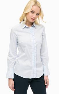 Приталенная рубашка в полоску More & More