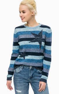 Трикотажный свитер в полоску More & More