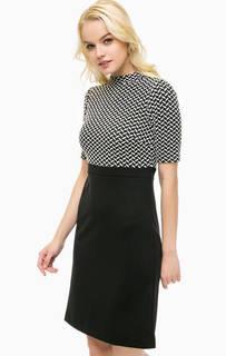 Трикотажное платье с коротким рукавами More & More