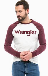 Хлопковая футболка с нашивками Wrangler