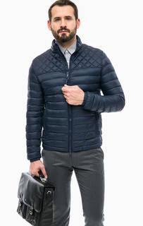 Синяя куртка с карманами Strellson