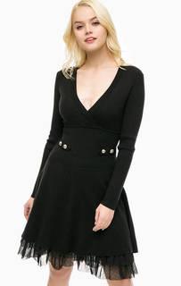 Трикотажное платье с нижней юбкой Patrizia Pepe