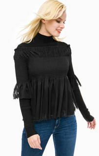 Джемпер с полупрозрачной блузой в комплекте Patrizia Pepe