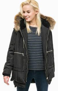 Куртка с карманами и меховой отделкой Canadian