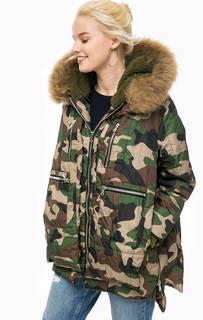 Куртка камуфляжной расцветки с карманами Canadian