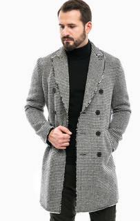 Двубортное шерстяное пальто Drykorn