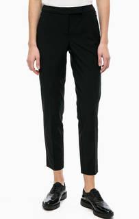 Укороченные брюки с декоративными молниями Comma