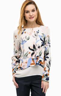 Блуза с удлиненной спинкой Comma