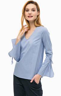 Блуза свободного кроя в полоску Comma