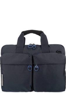 Текстильная сумка с отделением для ноутбука Mandarina Duck