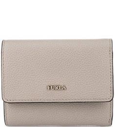 Кожаный кошелек с одним отделом для купюр Furla