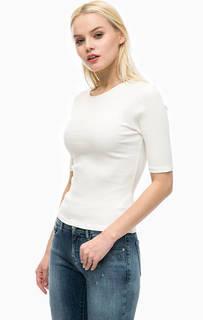 Обтягивающая футболка с короткими рукавами Calvin Klein Jeans