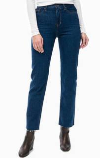 Зауженные джинсы с необработанным краем Calvin Klein Jeans