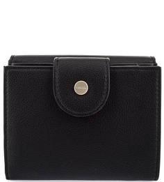 Кошелек черного цвета с одним отделом для купюр Calvin Klein Jeans
