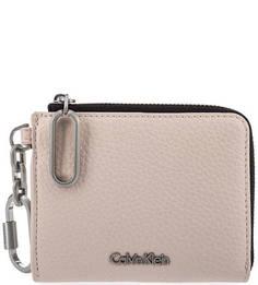 Розовая ключница на молнии Calvin Klein Jeans