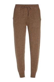 Бежевые кашемировые брюки Addicted