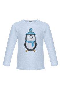 Лонгслив «Пингвин в синей шапочке» Lisa&Leo