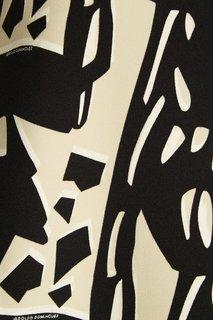 Платье с абстрактным принтом Adolfo Dominguez