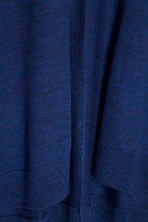 Темно-синий кардиган из шерсти Adolfo Dominguez