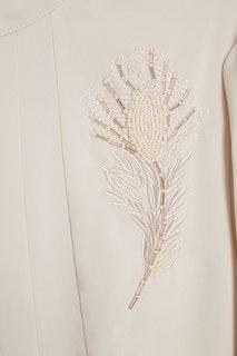 Платье со складками и вышивкой Akhmadullina Dreams