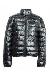 Блестящая серая куртка Bonpoint