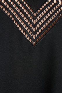 Платье с геометрическим декором RED Valentino