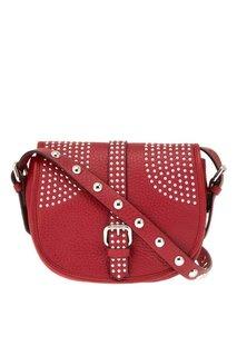 Красная сумка-мессенджер Rider RED Valentino