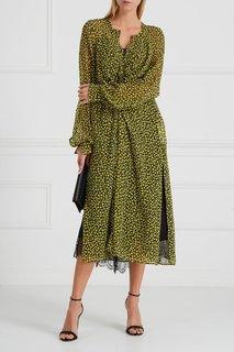 Платье с принтом и драпировкой Dorothee Schumacher