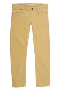 Желтые брюки в рубчик Bonpoint