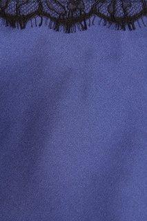 Шелковая синяя пижама Nu Code