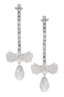 Серьги-банты с кристаллами Vivienne Westwood