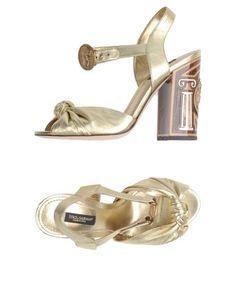 Сандалии Dolce & Gabbana