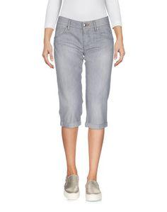 Джинсовые брюки-капри Ermanno Scervino