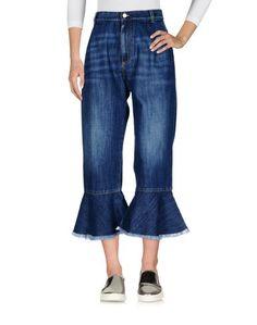 Джинсовые брюки-капри Suoli