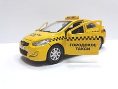 Машина Технопарк Hyundai Solaris «Такси» 12 см