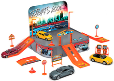 Игровой набор Welly «Гараж» с машиной
