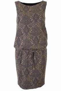 Элегантное платье с узорами Luisa Spagnoli