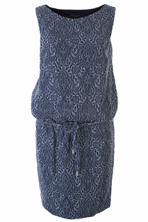 Повседневное платье с узорами Luisa Spagnoli