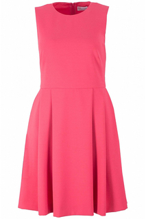 Яркое платье без рукавов Valentino Red