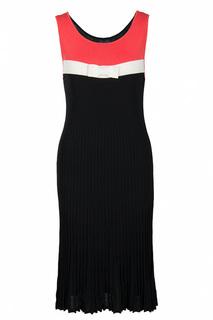 """Платье с декором """"Бант"""" Luisa Spagnoli"""
