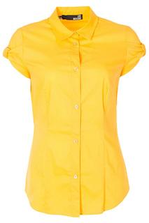 Прилегающая блуза с застежкой на пуговицы Love Moschino